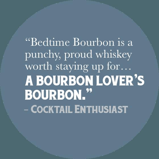 bedtime bourbon cocktail enthusiast review